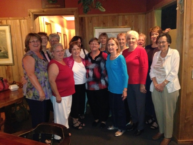 Ladies Circle Mother's Day Dinner @ Frederica House on St. Simons Island  5/20/13