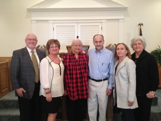 Family: Joe Fowler, Cindy Fowler, Becky Hunter, Larry Hunter, Martha Roberts, Pat Kroscavage