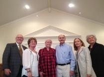 Family: Joe Fowler, Cindy Fowler, Becky Hunter, Larry Hunter, Martha Roberts, Pat Kroscavage