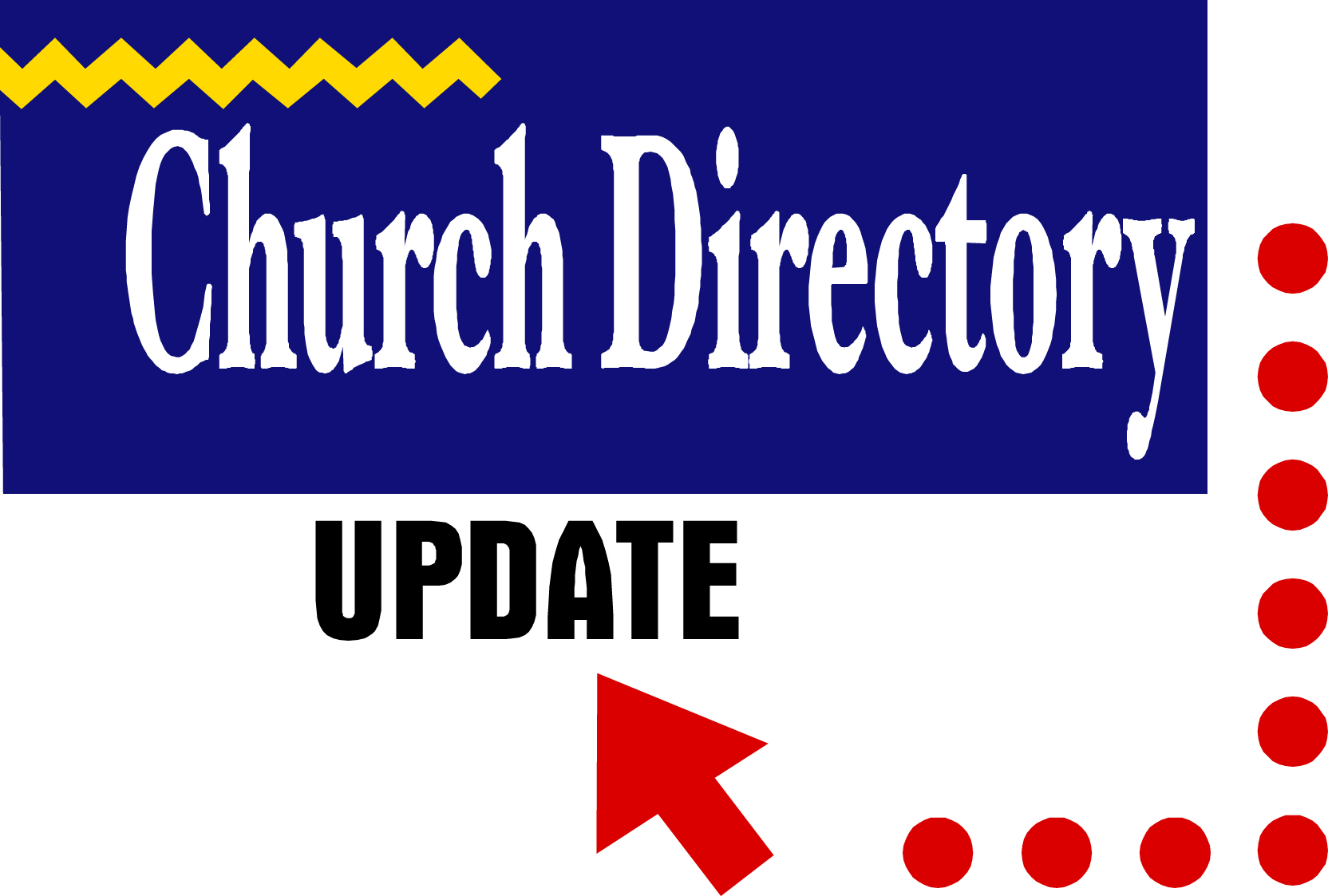 The contact list for church members and regular attendees has been