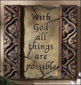 prayer - with god all things are possible