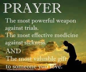 prayer-powerful weapon