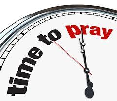 PRAYER-TIME TO PRAY