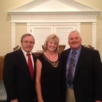 Pastor Ron, Dottie and Tim Short
