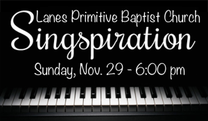 lanes PB Church - Singspiration-Nov 2015
