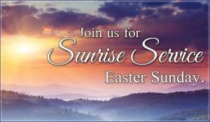 Sunrise Service _Easter