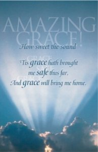 amazing grace bulletin-funeral